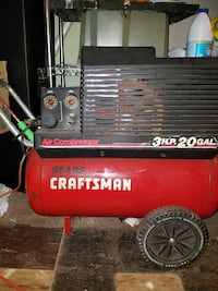 red and black Craftsman sears air compressor Baltimore, 21215