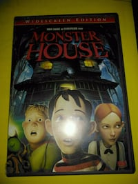Monster House Animated DVD!