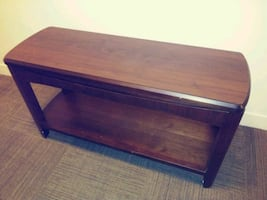 Sofa and Side Tables/Wooden