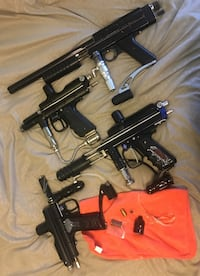 Paintball Gear (375obo for all) North Vancouver, V7N 3B3