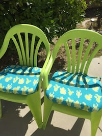 New outdoor chairs