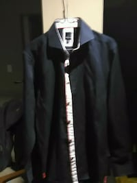 black and white zip-up jacket Calgary, T3J 3G9