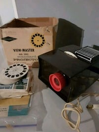 Vintage View Master Projector plus bonus pak viewmaster and slide paks Edmonton, T5T 6E2
