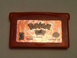 Pokemon Fire Red Version Authentic GBA Gameboy Advance