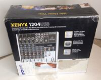 Behringer Xenyx 1204USB 12-Input Mixer Mic Mint Condition Washington