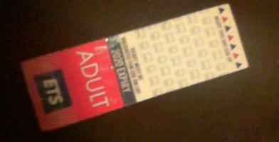 36 ADULT BUS TICKETS $60 OBO