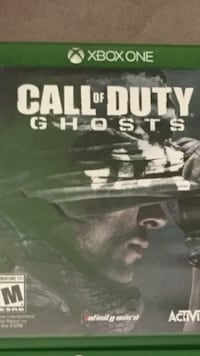 Xbox One Call of Duty Ghost case Calgary, T2A 4W4