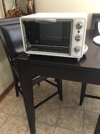 white General Electric toaster oven