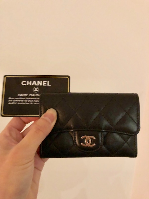 8fc1decbb35a Used Authentic CHANEL 2.55 flap card holder for sale in Toronto - letgo