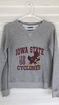 gray Iowa State scoop-neck sweater Ames, 50014