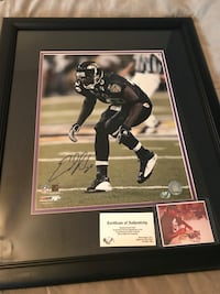 Autographed Ed Reed Picture Glen Burnie, 21060