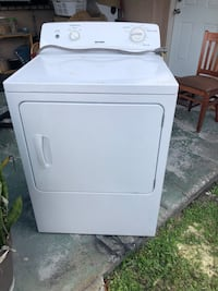 white front load clothes dryer Hialeah, 33012