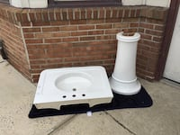 Sink with pedestal (new condition ) Halethorpe, 21227