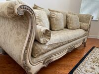 Stunning statement couch, spent $4K Tampa, 33647