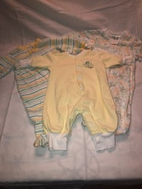 Bundle of 3 full body suits