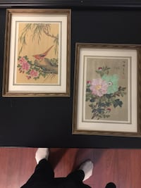 Two white petaled flowers paintings Middletown, 10940