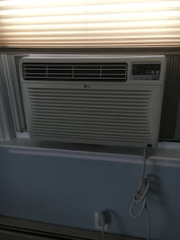 white LG window type air conditioner Linden, 07036