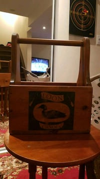 brown wooden cabinet with mirror Vaughan, L4J 4S8