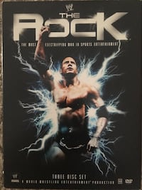 WWE The Rock DVD Set Calgary, T3M 0C6