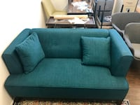 Brand new, never used teal love seat Los Angeles