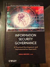 Information security governance - brand new book