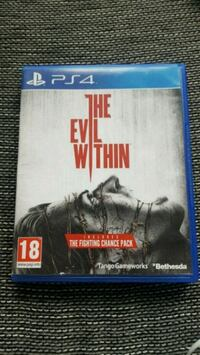 The Evil Within PS4 spel fallet Stockholm, 123 49