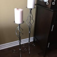 Party Lite Candle stick holders