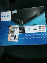 New - Philips-- dvd with WiFi