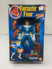 "Brand New The Fantastic Four's Johnny Storm aka The Human Torch 10"" Marvel Action Figure"