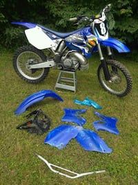 blue and black motocross dirt bike Sterling, 20164