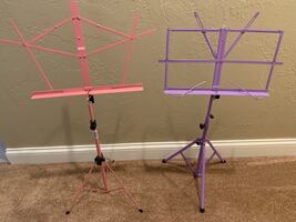 Music stands for youth band, orchestra, etc.