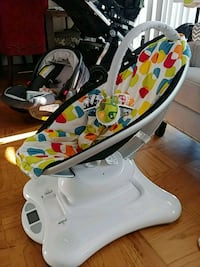 baby's white and black high chair Arlington, 22204