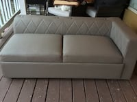 Gray Leather Like Loveseat Beavercreek, 45432