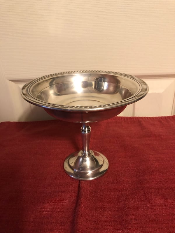 Crystal Salad Bow w/SilverFork/Spoon and Silverplate Candy Dish-$15 ea 51eef9c6-fb7f-4c9d-a68e-7f8e9b75dd3a