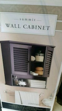 white and black wooden cabinet Springfield, N0L 2J0