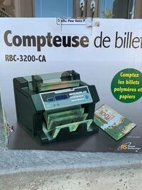Bill counter 80 percent new Kitchener, N2R 1Z3