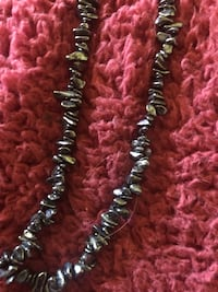 Hematite necklace 16 inches protection Asheville