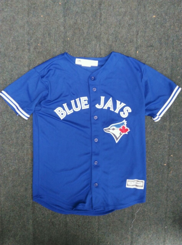 Blue Jays Jersey Youth LRG