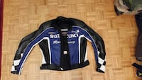Suzuki official product padded leather jacket sz M Ontario, M3C 1X7
