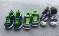 3 pairs of Boys size 13 shoes Colorado Springs, 80921