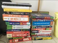 Assorted test prep book collection Silver Spring, 20902