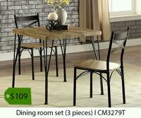brown wooden dining table set Fountain Valley, 92708