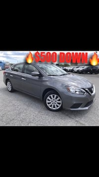 2017 Nissan Sentra - $500 Down, Drive Today!