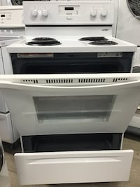 "30"" WHIRLPOOL COIL TOP STOVE Vaughan"