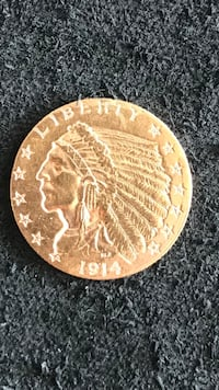 Gold Coin. 1914 USA