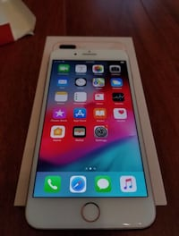 gold iPhone 8 Plus with box Charlotte, 28203