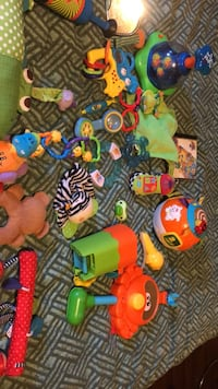 Baby bundle musical ball teethers and more take all Edmonton, T5C 2J3
