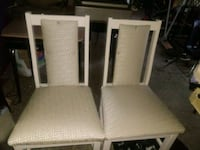 Two cream color chairs Columbus, 31903