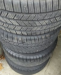245/40/19 inch tires set of four 80$ Mission, 66202