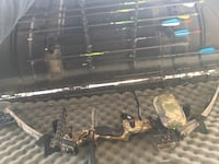 black and brown compound bow Surrey, V3R 2M7